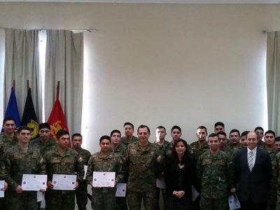 Ejército cuenta con 26 nuevos monitores de prevención de drogas, alcohol y tabaco