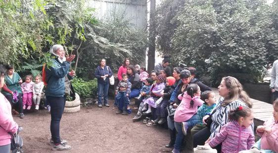 Previene La Cisterna organiza paseo educativo para niños de jardín infantil