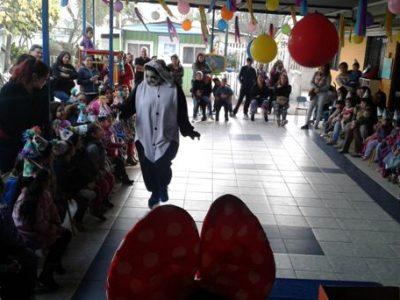 Previene Lo Espejo celebra aniversario comunal en jardín infantil