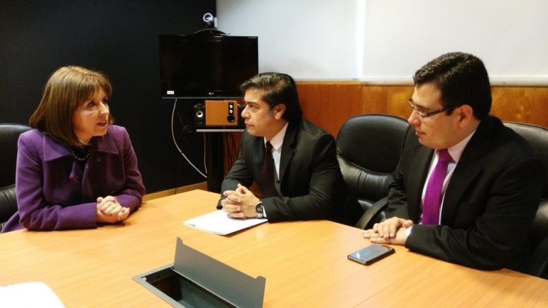 Intensa agenda marca visita del director de SENDA a la Región del Biobío