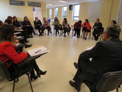 SENDA Araucanía junto al Poder Judicial y organismos de justicia y prevención reflexionan sobre el impacto de los Tribunales de Tratamiento de Drogas en Temuco