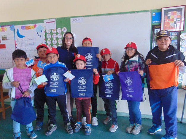 Niños de Punta de Choros participan en charla preventiva