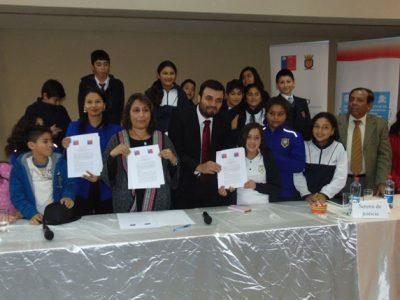 Se firma convenio de colaboración con Sename para reforzar trabajo en la región