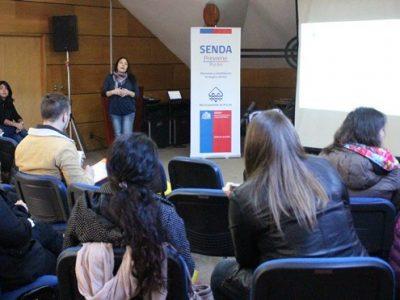 SENDA Previene Pucón realiza jornada de capacitación a establecimientos educacionales y jardines infantiles