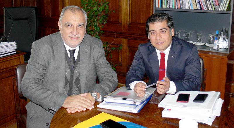 Director de SENDA sostuvo reunión de trabajo con jefe del Observatorio Interamericano de Drogas