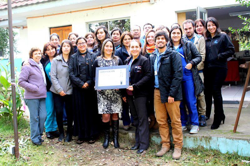 SENDA O'Higgins certifica a Hospital de Coinco en Prevención de Drogas y Alcohol