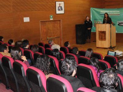 312 establecimientos educacionales de la región participan en capacitaciones en nuevos programas preventivos de SENDA