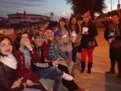 Jóvenes de Ovalle recorren los barrios para prevenir el consumo de alcohol