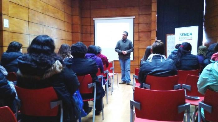 SENDA Previene Lanco realizó Primer Encuentro de Agentes Preventivos comunales