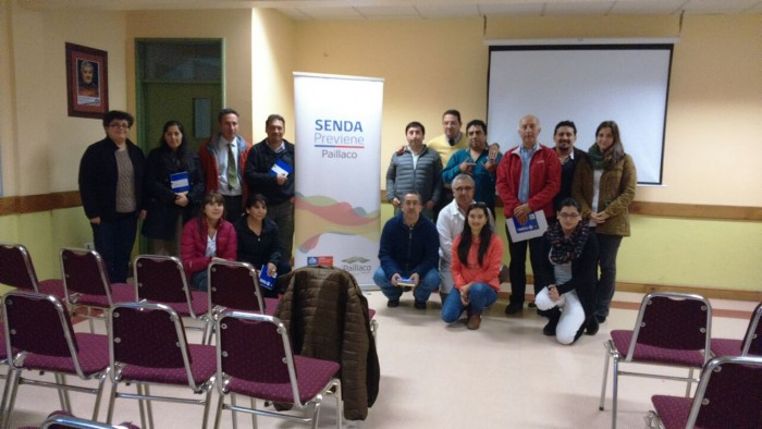 SENDA Previene Paillaco capacitó como Agentes Preventivos en temáticas de drogas a funcionarios del Liceo Rodulfo A. Philippi