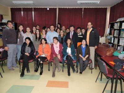 SENDA Previene Río Bueno capacitó en detección temprana a duplas psicosociales de la comuna