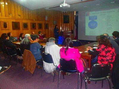 SENDA Previene Valdivia realizó 1ª sesión de Comisión Comunal de Drogas