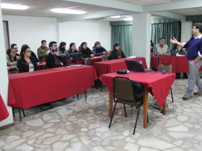 SENDA Araucanía capacitó a profesionales Previene para construir de redes de apoyo en prevención en el ámbito laboral