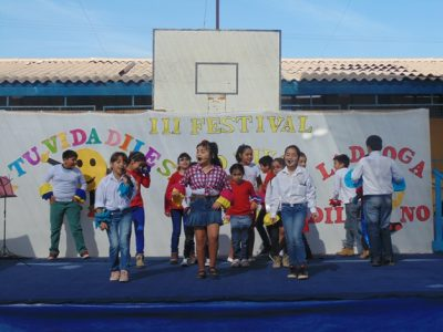 Con festival escolar de música celebran el Día de la Prevención en Ovalle