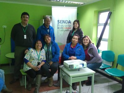 SENDA Previene Collipulli capacitó a CECOF Minico para implementar programa MIPE preventiva