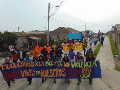 Con masiva caminata celebran el Día de la Prevención en Los Vilos