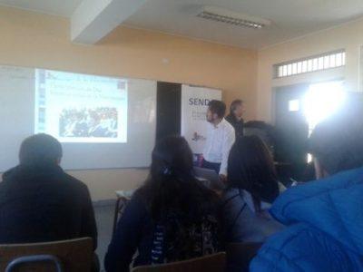 En La Cisterna se realiza primera reunión de la Mesa Estudiantil