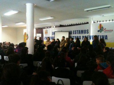 Estudiantes de Talagante implementan Curso de Formación Preventiva en Alcohol