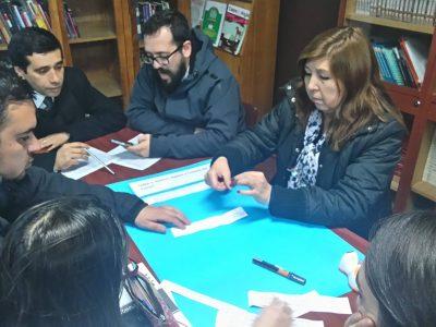 SENDA Previene de Collipulli capacitó a profesores en entrega de material Continuo Preventivo