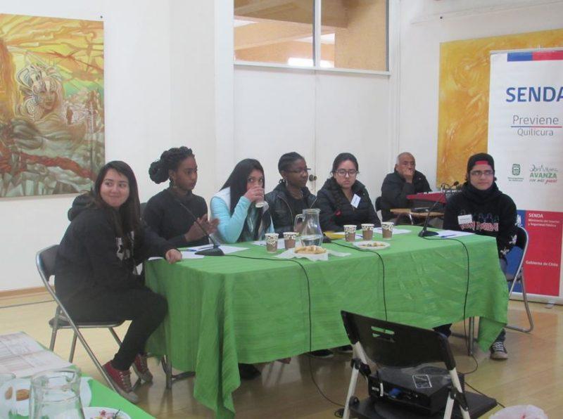 SENDA Previene Quilicura comienza debates estudiantiles comunales