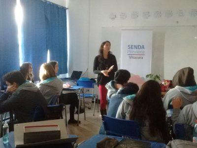 Previene Vitacura finaliza talleres de reflexión a alumnos de Cuarto Medio