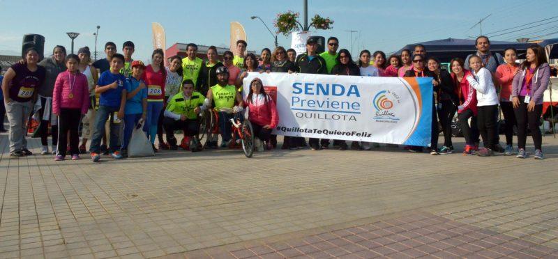 """Con corrida familiar SENDA Valparaíso inicia conmemoración del Día de la Prevención bajo el lema «Estamos disponibles para ti"""""""