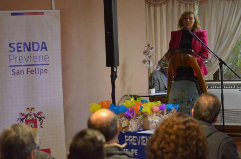 Agentes Preventivos son destacados en San Felipe por su labor y colaboración en torno a la Prevención