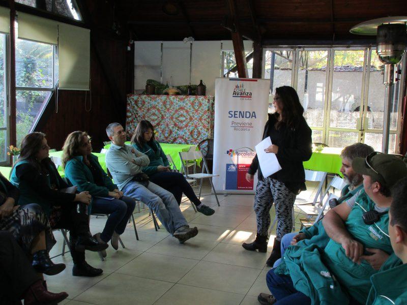 Previene Recoleta continúa trabajando con funcionarios de Parque Metropolitano
