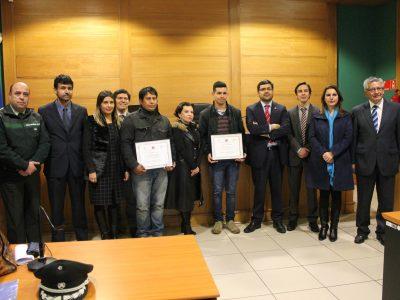 Se conmemora tercer aniversario del Programa de Tribunal de Tratamiento de Drogas de Temuco