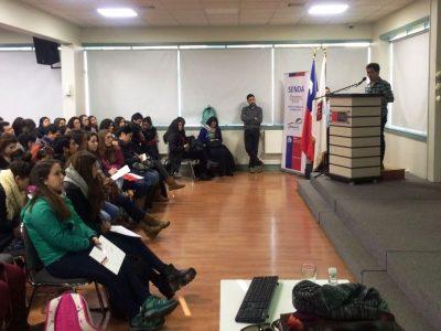 Gran convocatoria en seminario sobre abordajes en el tratamiento de adolescentes con consumo de drogas y alcohol organizado por Senda Previene Temuco
