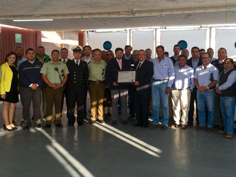 SENDA Antofagasta certifica a Corpesca Mejillones como espacio laboral preventivo