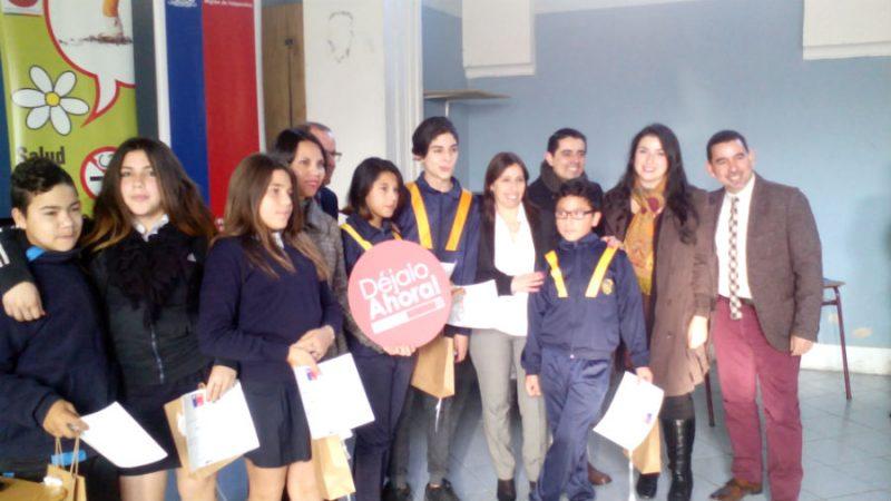 SENDA participó en conmemoración del Día Mundial sin Tabaco realizada por la Seremi de Salud de Valparaíso