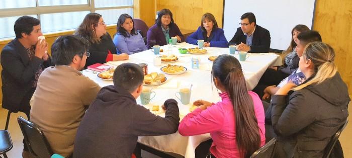 Gobernadora de Concepción y Director Regional de SENDA Biobío visitan nuevas dependencias del Centro de Tratamiento El Faro en Talcahuano