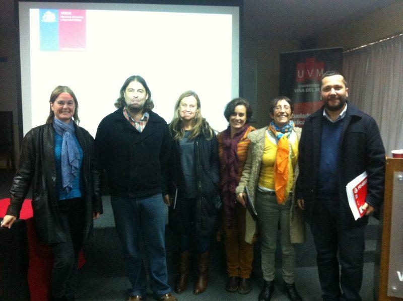 SENDA Valparaíso realiza exposición sobre Prevención a alumnos de Universidad de Viña del Mar