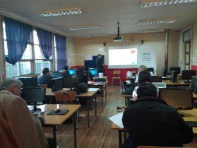 """SENDA Previene Los Lagos presentó programa """"Aprendemos a Crecer"""" a docentes de Escuela Rural Folilco"""