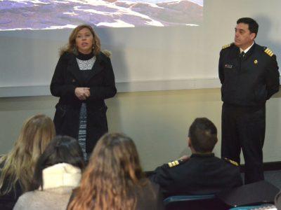 SENDA Valparaíso capacita a funcionarios de la Armada de Chile en técnicas de Prevención
