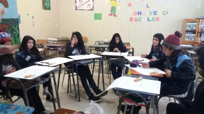 SENDA Previene Panguipulli incentiva el arte como herramienta preventiva en estudiantes