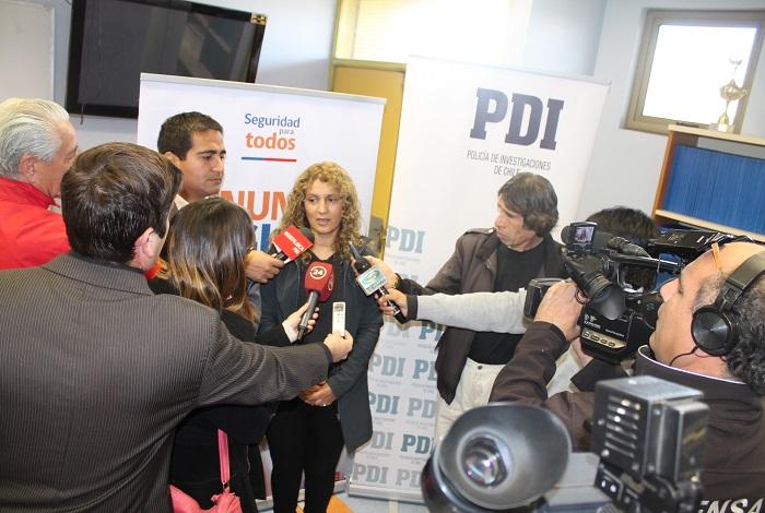 Policía de Investigaciones lanzó campaña con el respaldo de Senda Atacama