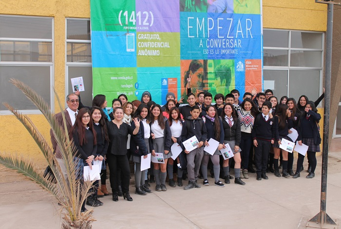 Escuchando a los jóvenes, Senda Atacama inicio el mes de la Prevención