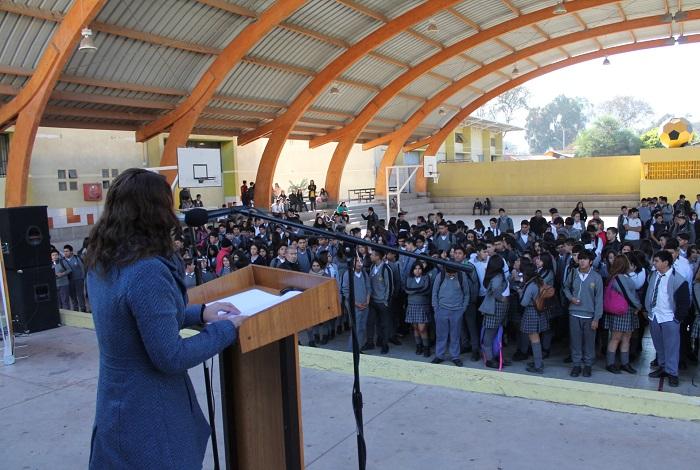 Conmemoran del Día de la Prevención en Liceo José Antonio Carvajal