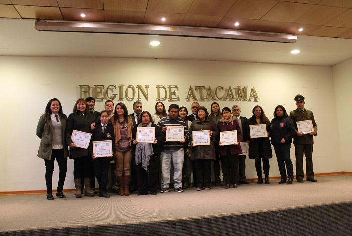 Senda Atacama conmemoró el Día de la Prevención enseñando a ser mejores padres