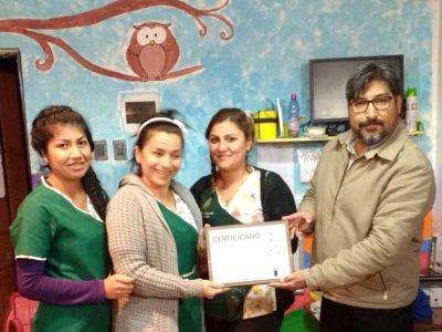 Jardín Infantil Abaco es certificado como Espacio Preventivo en San Esteban