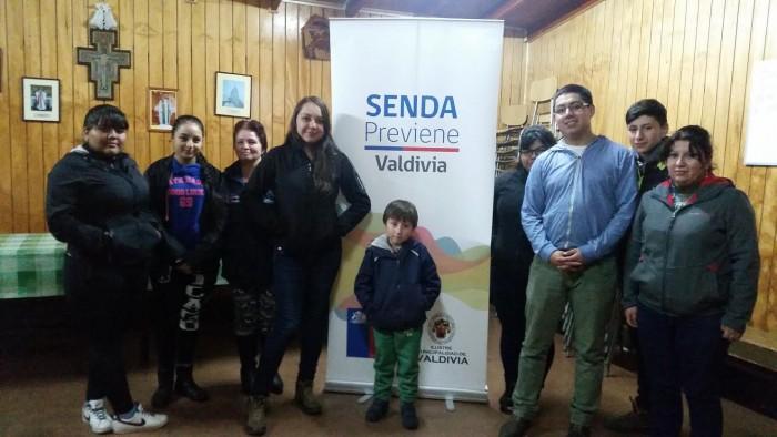 SENDA Previene de Valdivia finalizó talleres de Estrategias Comunitarias y Familiares en sector Pablo Neruda