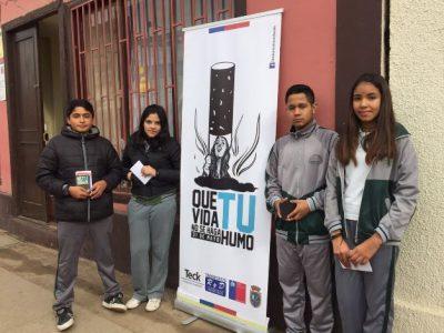 Equipos Previene se suman a la celebración por el Día Mundial Sin Tabaco