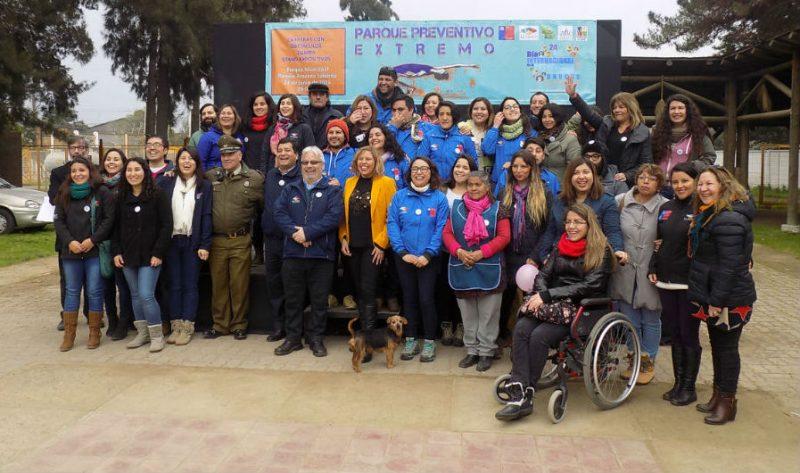 Niños y niñas de La Calera participan en Parque Extremo Preventivo