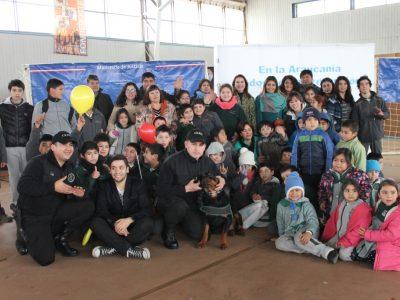 """Hasta la comuna de Gorbea llegaron SENDA Araucanía,  SEREMI  de Justicia y Gendarmería de Chile con programa """"Prevenir, tarea de todos"""""""