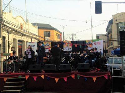 Melipilla lanza campaña «Cuida tus límites» con entretenido show musical