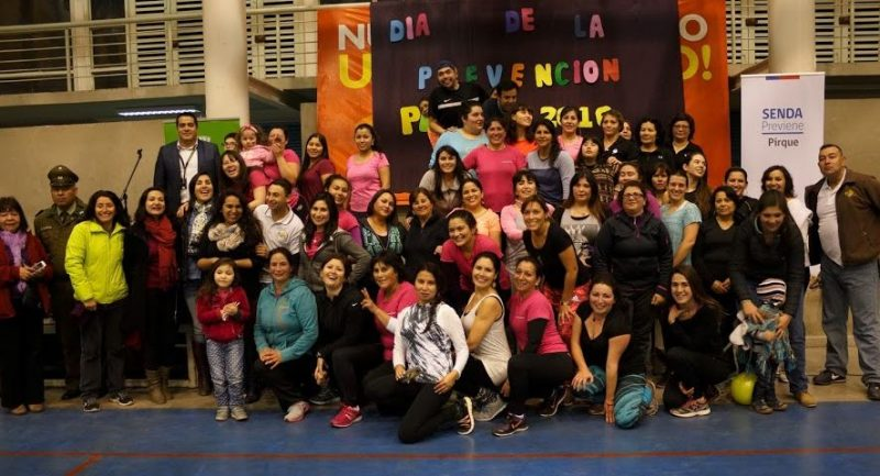 Con actividad recreativa lanzan campaña «Cuida tus límites» en Pirque
