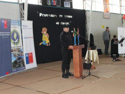 SENDA Previene de Paine desarrolla acciones preventivas en torneo interescolar