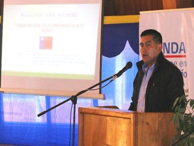 SENDA entrega primer diagnóstico de consumo de alcohol en  Alto Bío -Bío